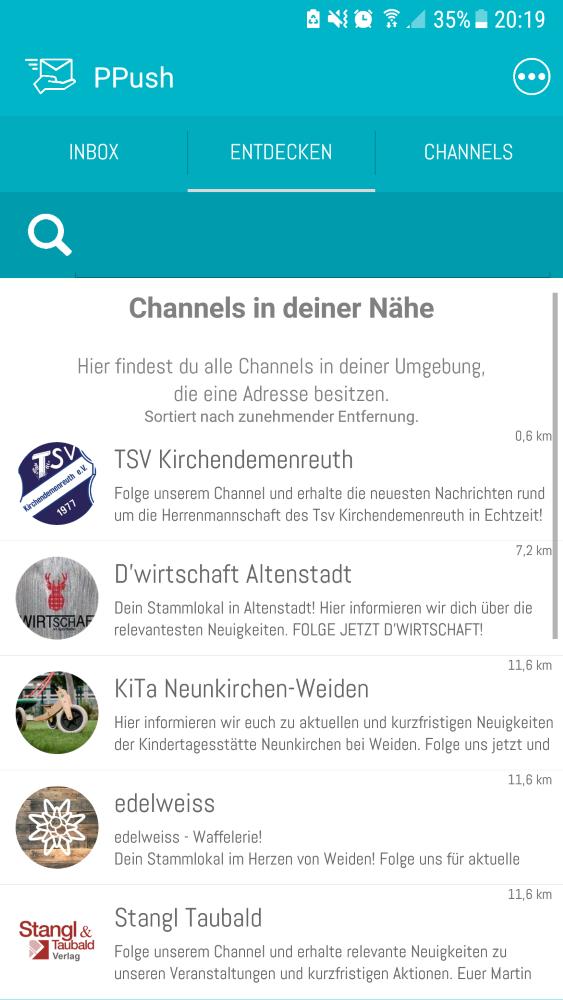 Entdecke Channels