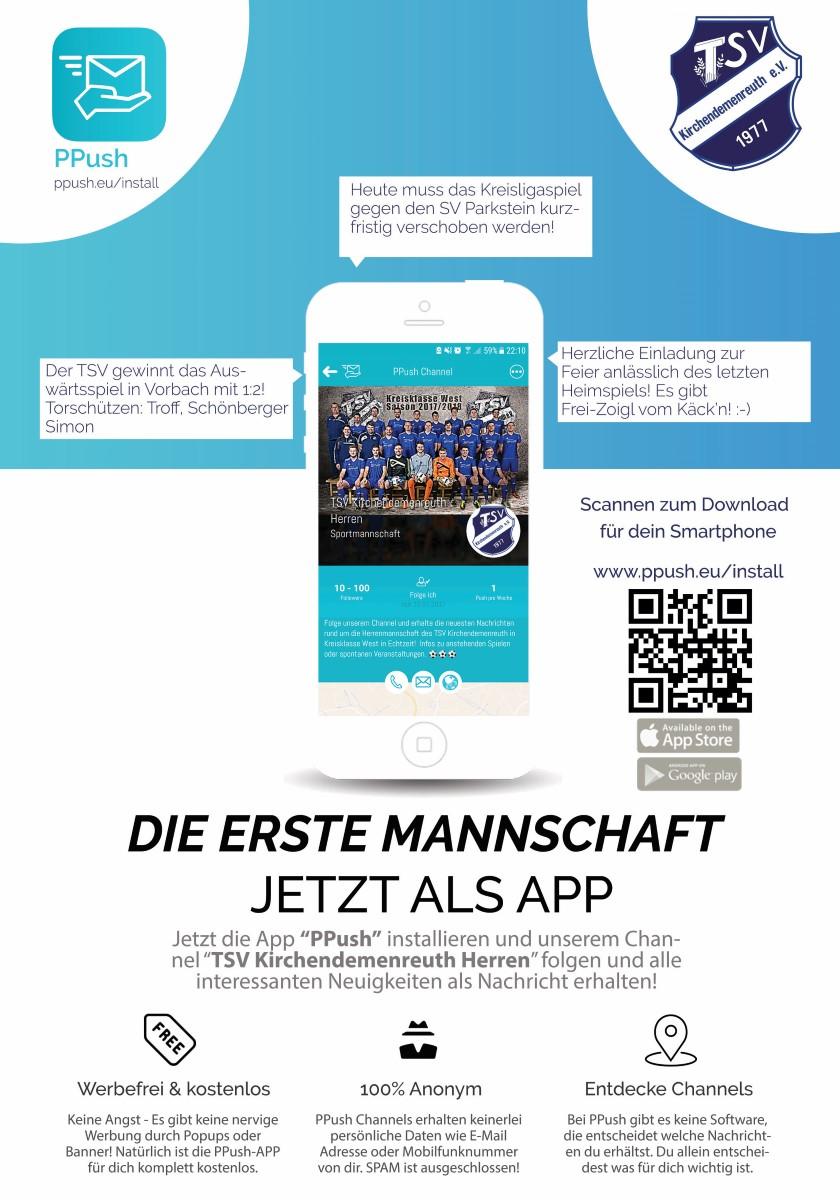 Flyer TSV Kirchendemenreuth