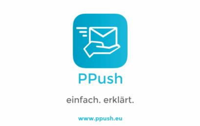 Das PPush Erklärungsvideo am Beispiel eines Cafés