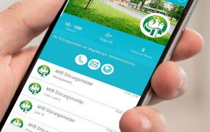 Magdeburger Verkehrsbetriebe – Störungsmeldungen via PPush