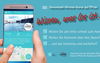 Weiterer Showcase – Die Hansestadt Wismar informiert Ihre Bürger unkompliziert mit PPush